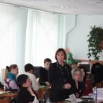 Круглый стол Образование и трудоустройство. Выступает Татьяна Дроздова
