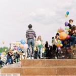 Праздник Миллион воздушных шариков. Площадь Свободы.