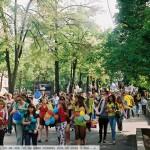 Праздник Миллион воздушных шариков. Торжественный марш с шариками
