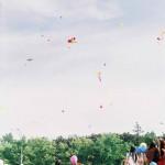 Праздник Миллион воздушных шариков. Площадь Свободы. Миллион шаров в небе.