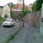 Переулок Воробьева перегружен автомобильным потоком