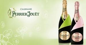 Шампанское Perrier-Jouet  приобрело  новое одеяние а-ля денди