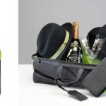 Шампанское Perrier-Jouet + два элегантных бокала и две шляпы от Borsalino