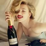 Скарлетт Йоханссон и Шампанское Moët&Chandon
