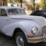 Выставка автомобилей в стиле «ретро» в Харькове